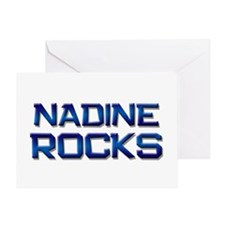 nadine rocks Greeting Card