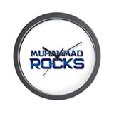 muhammad rocks Wall Clock
