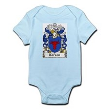 Larsen Coat of Arms Infant Creeper