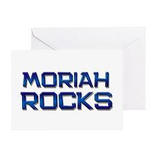 moriah rocks Greeting Card