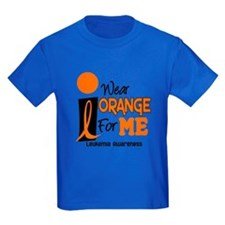 I Wear Orange For ME 9 Leukemia T