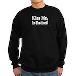 Kiss Me, I'm Shitfaced! Sweatshirt (dark)