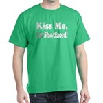 Kiss Me, I'm Shitfaced! Dark T-Shirt