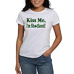 Kiss Me, I'm Shitfaced! Women's T-Shirt