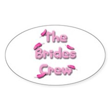 Pink Freak HEN PARTY - Oval Sticker (50 pk)