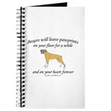Boxer Pawprints Journal