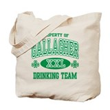Gallagher Irish Drinking Team Tote Bag