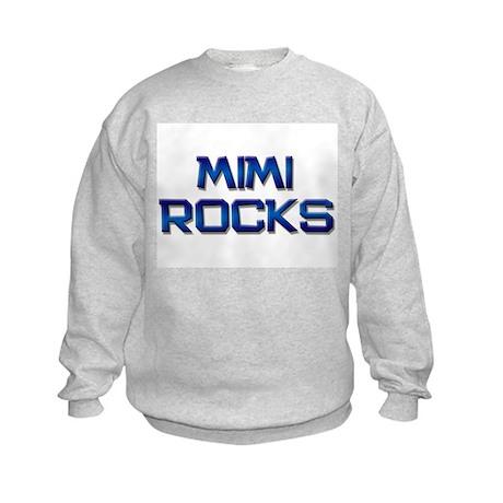 mimi rocks Kids Sweatshirt