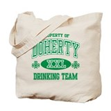 Doherty Irish Drinking Team Tote Bag