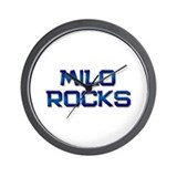 milo rocks Wall Clock