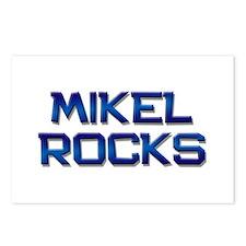 mikel rocks Postcards (Package of 8)