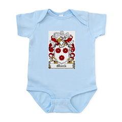 Munk Coat of Arms Infant Creeper