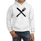 cutlery - knife and fork Hoodie Sweatshirt