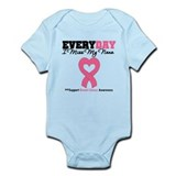 Breast Cancer Miss Nana  Baby Onesie