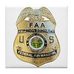 Air Marshal Tile Coaster