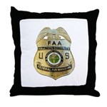 Air Marshal Throw Pillow