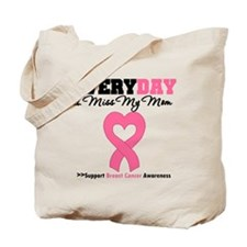 Breast Cancer Miss Mom Tote Bag