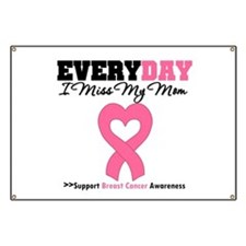 Breast Cancer Miss Mom Banner