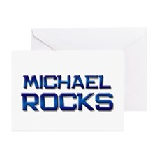 michael rocks Greeting Cards (Pk of 10)