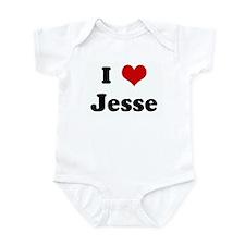 I Love Jesse Infant Bodysuit