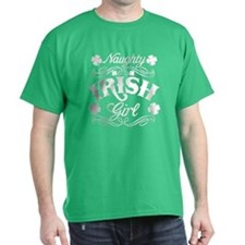 Naughty Irish Girl T-Shirt