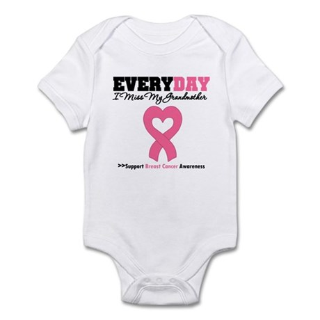 BreastCancerMissGrandmother Infant Bodysuit
