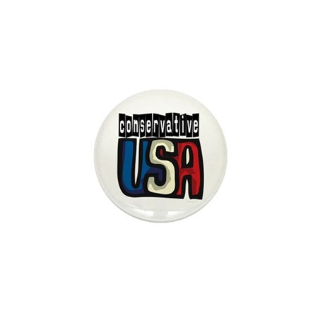 Conservative USA Mini Button (100 pack)
