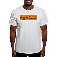 Drowsiness Ash Grey T-Shirt