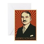 Ludwig von Mises Greeting Cards (Pk of 20)