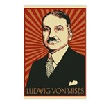 Ludwig von Mises Postcards (Package of 8)