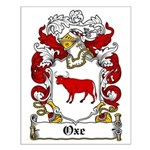 Oxe Coat of Arms Small Poster