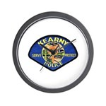 Kearny Police Wall Clock