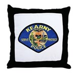 Kearny Police Throw Pillow