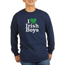 I Love Irish Boys T