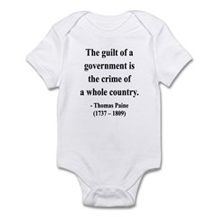 Thomas Paine 14 Infant Bodysuit