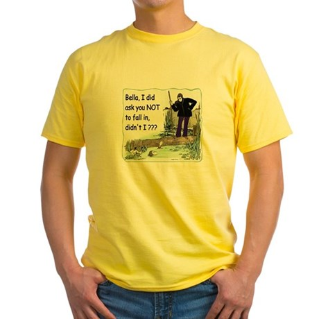 Funny Bella Yellow T-Shirt