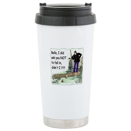 Funny Bella Ceramic Travel Mug
