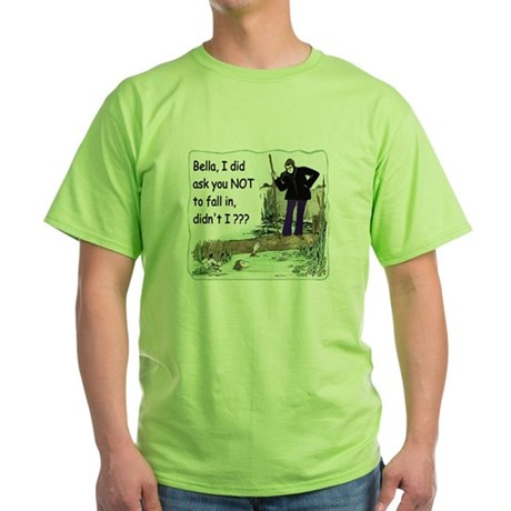 Funny Bella Green T-Shirt