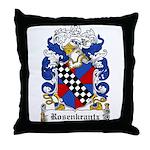 Rosenkrantz Coat of Arms Throw Pillow