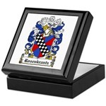 Rosenkrantz Coat of Arms Keepsake Box
