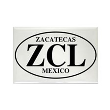 ZCL Zacatecas Rectangle Magnet (100 pack)