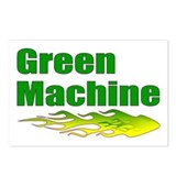 Green Machine Postcards (Package of 8)