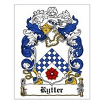Rytter Coat of Arms Small Poster