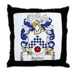 Rytter Coat of Arms Throw Pillow