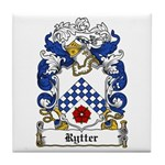 Rytter Coat of Arms Tile Coaster