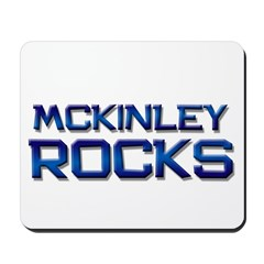 mckinley rocks Mousepad