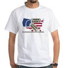 Proud Dad of 2 US Army Soldiers Shirt