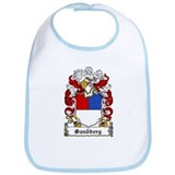 Sandberg Coat of Arms Bib