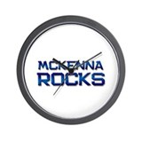 mckenna rocks Wall Clock