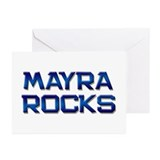 mayra rocks Greeting Cards (Pk of 20)